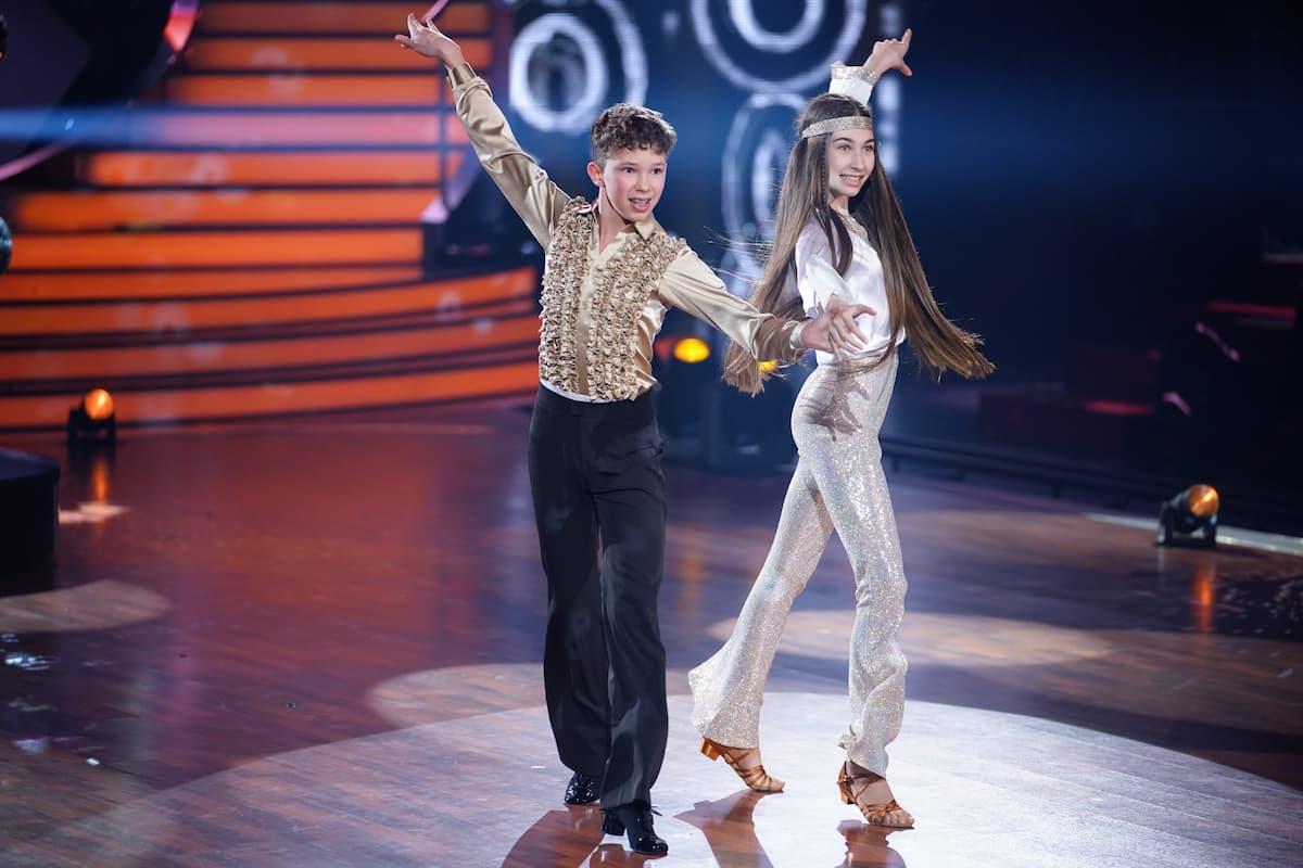 Angelina Stecher-Williams - Erik Rettich bei Let's dance Kids am 30.5.2021