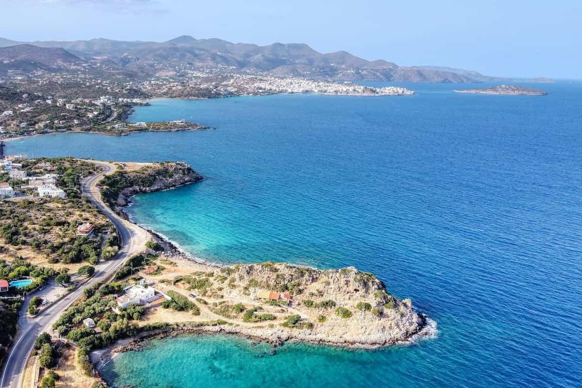 Ansicht von Kreta - Drehort von Princess Charming 2021 in Griechenland
