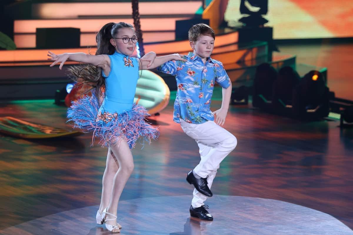 Ausgeschieden bei Let's dance Kidas am 16.5.2021 Maris Ohneck - Jana Lembersky