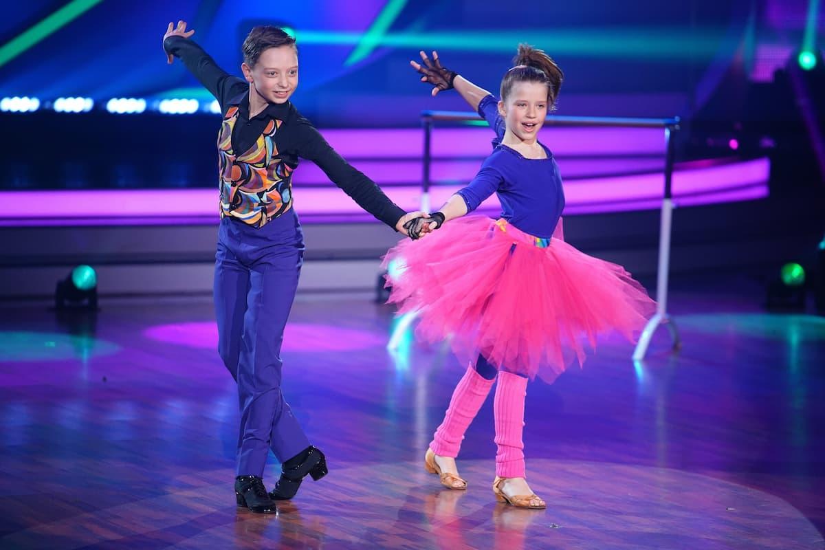 Ausgeschieden bei Let's dance Kids am 30.5.2021 Zoe Baillieu und Mischa Bakscheev