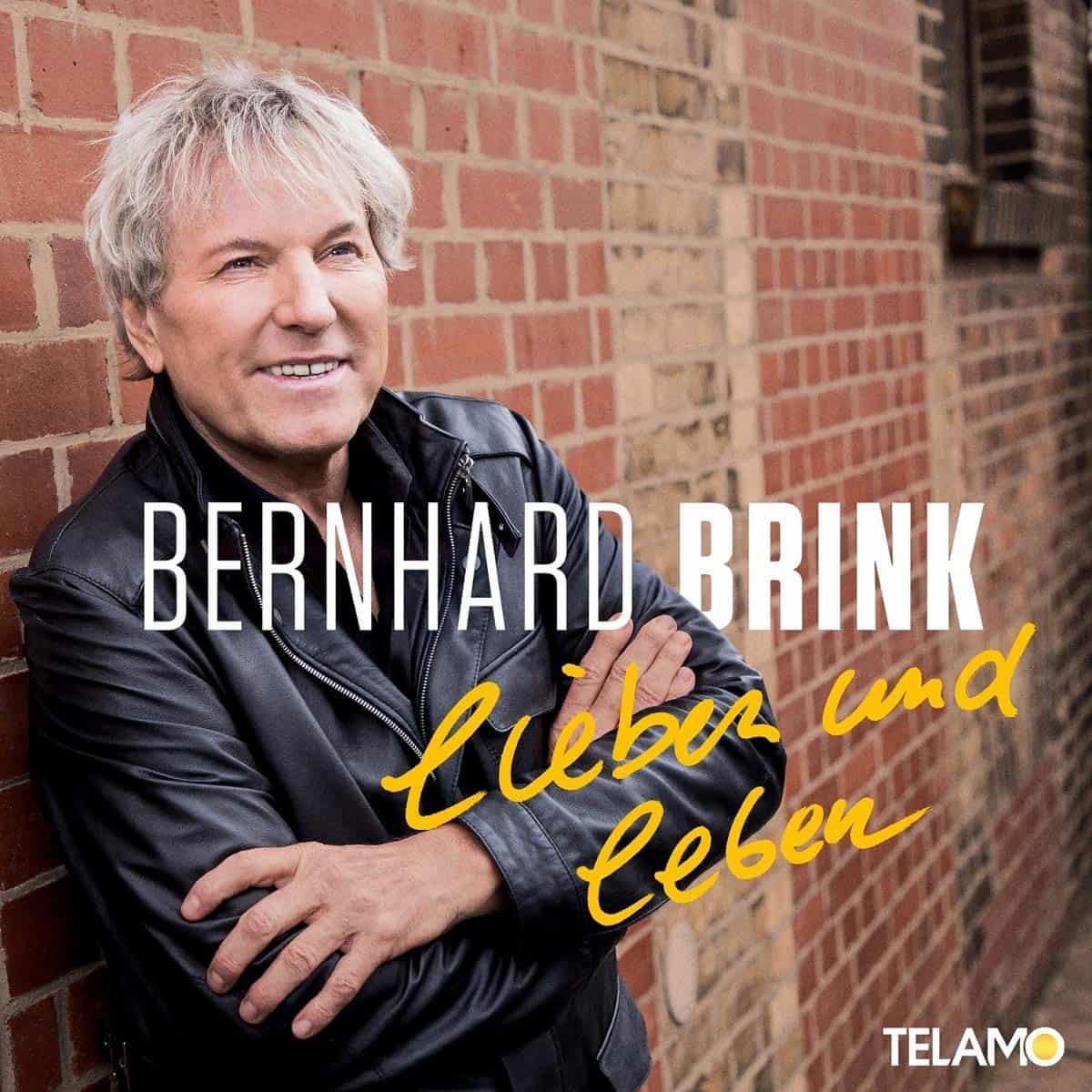 """Bernhard Brink CD """"Lieben und Leben"""" 2021 - CD-Cover"""