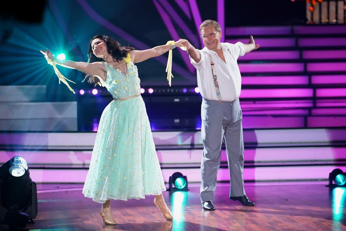 Christina Luft und Jan Hofer bei Let's dance am 9.4.2021