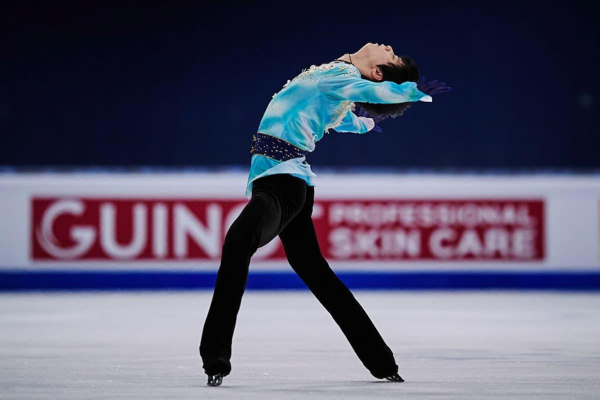 Eiskunstlauf World Team Trophy 2021 Zeitplan 15.-18.4.2021, TV-Übertragungen aus Osaka - hier im Bild Yuzuruh Hanyu bei seiner aktuellen Kür