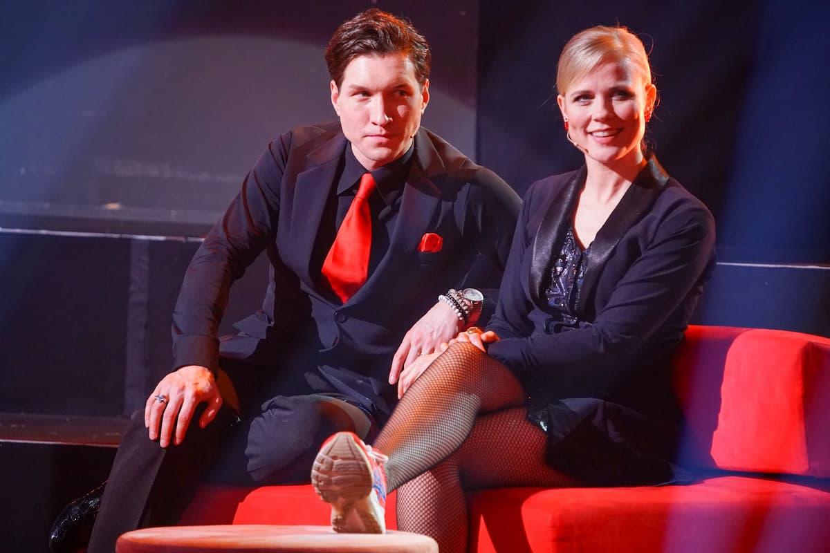 Haben bei Let's dance am 23.4.2021 nicht getanzt - Ilse DeLange und Evgeny Vinokurov