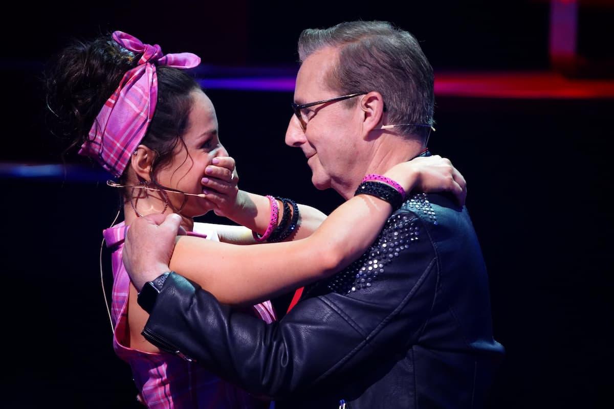Jan Hofer und Christina Luft Let's dance 16.4.2021