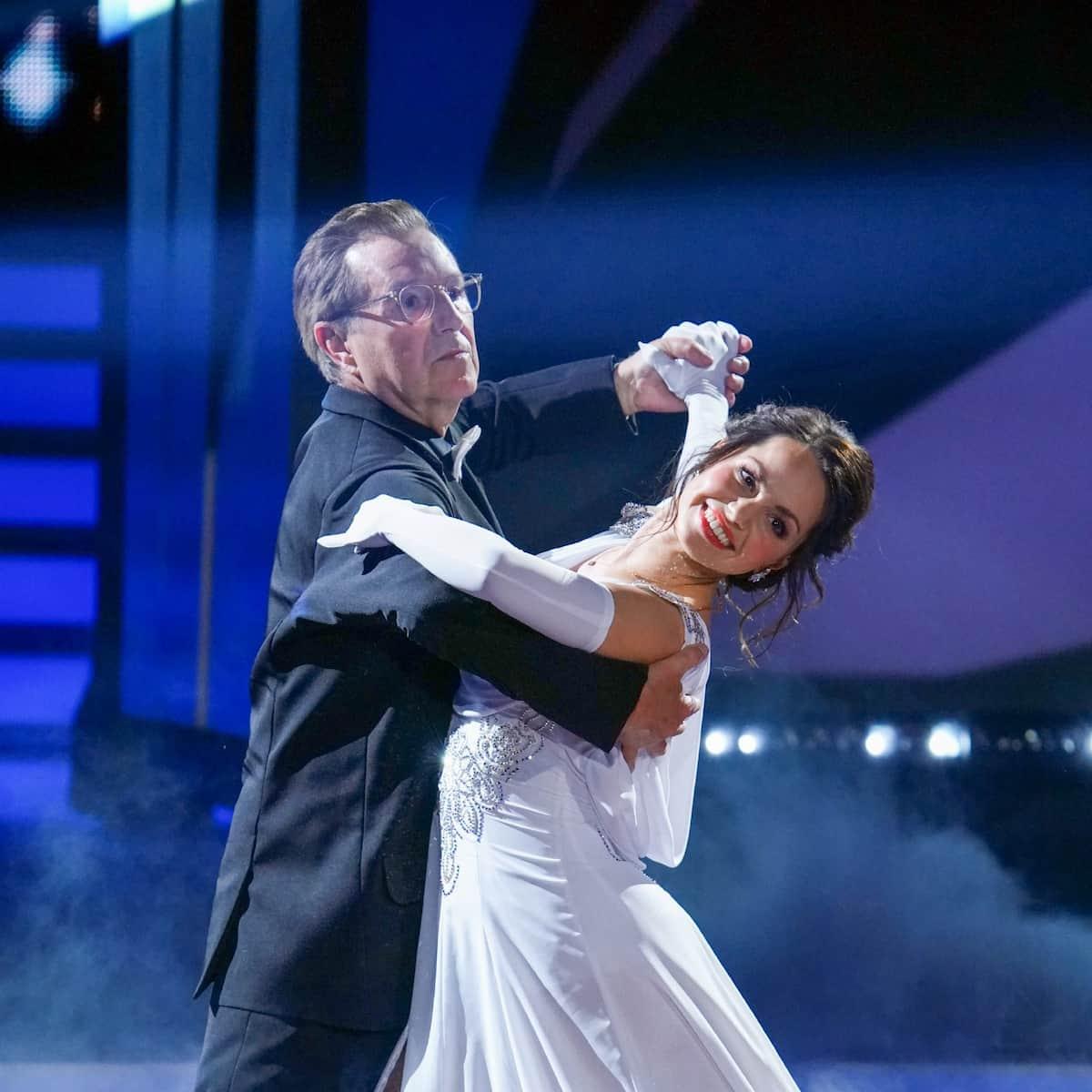 Jan Hofer und Christina Luft ausgeschieden bei Let's dance am 23.4.2021