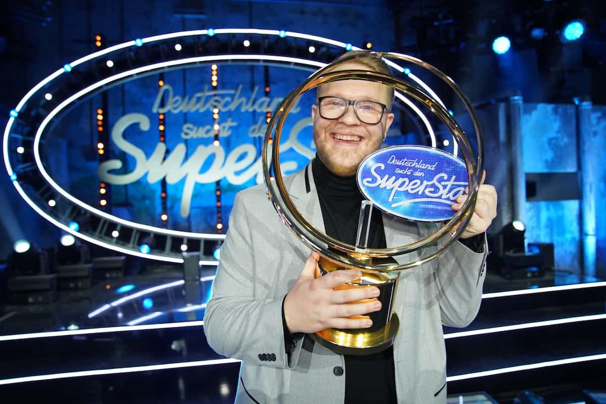 Jan-Marten Block als DSDS-Gewinner 2021