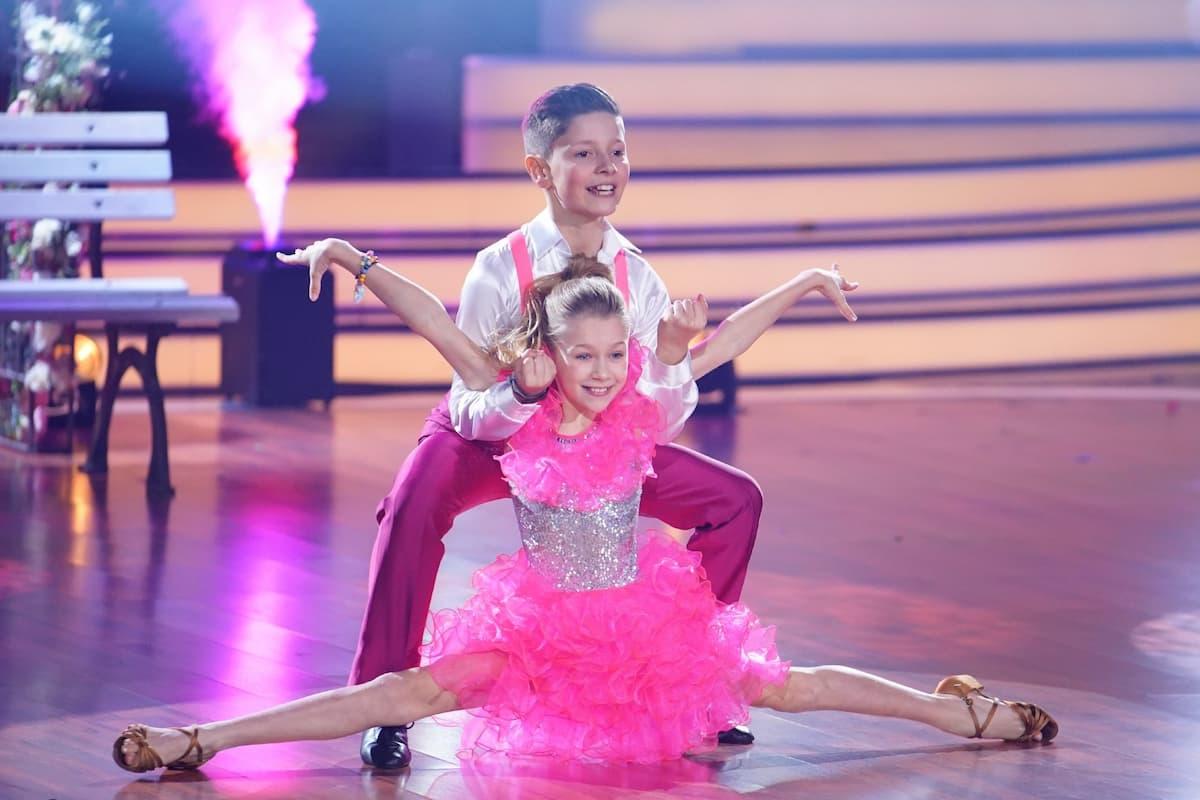 Jona Szewczenko - Tizio Toago Domingues da Silva im Finale Let's dance Kids 2021