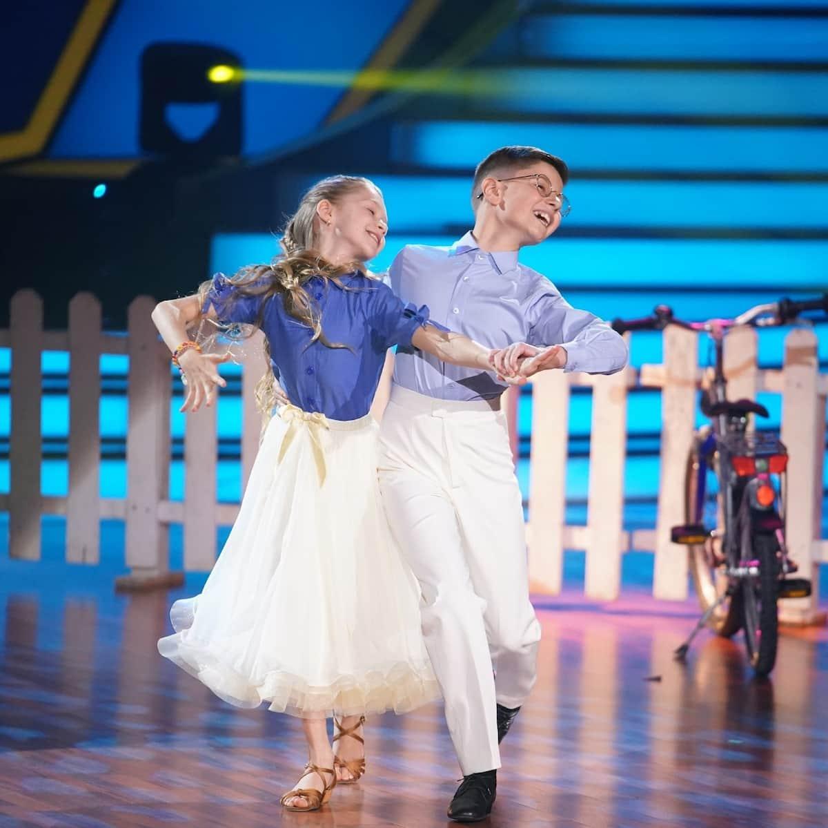Jona und Tizio bei Let's dance Kids am 23.5.2021