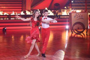 Let's dance Kids 1. Folge ab 9.4.2021, Fakten & Meinung - hier im Bild Angelina Stecher-Williams - Erik Rettich