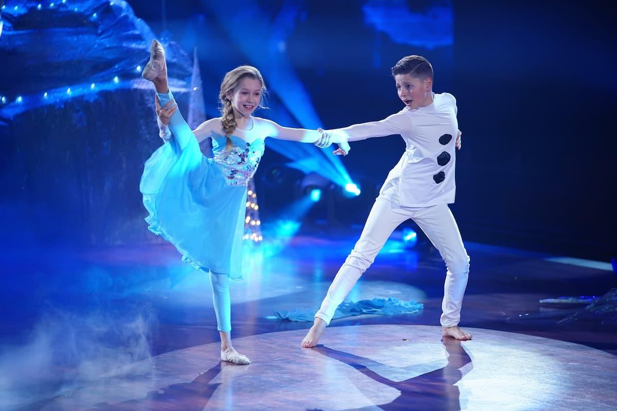 Let's dance Kids 2021 Finale Sieger-Gewinner Jona Szewczenko - Tizio Toago Domingues da Silva