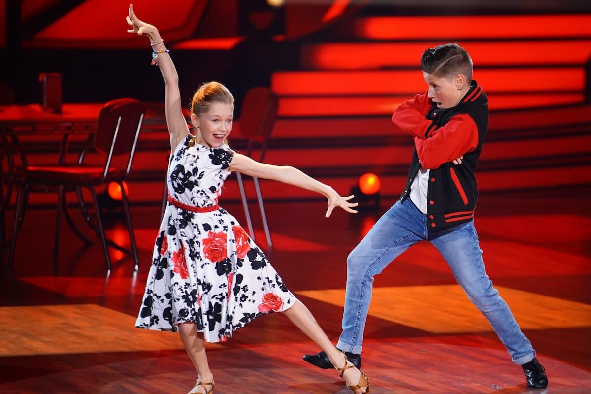 Let's dance Kids 2021 Halbfinale - Folge 3, Fakten und Meinung - hier im Bild Jona Szewczenko - Tizio Toago Domingues da Silva
