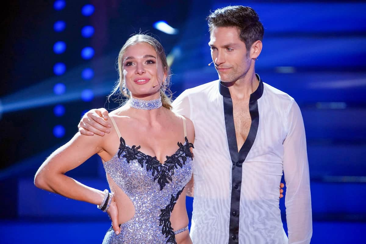 Let's dance am 23.4.2021 - Lola Weippert und Christian Polanc