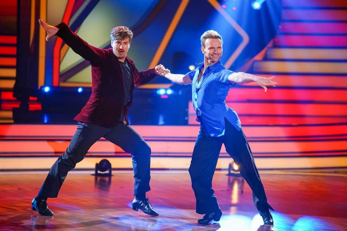 Let's dance am 23.4.2021 Nicolas Puschmann und Vadim Garbuzov