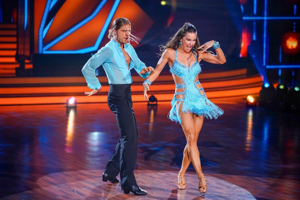 Let's dance am 23.4.2021 Rurik Gislason und Renata Lusin