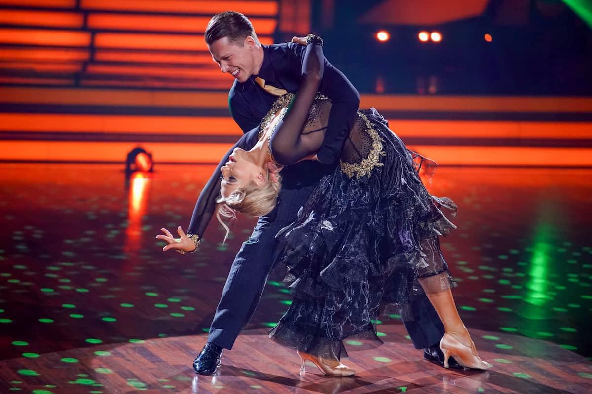 Let's dance am 23.4.2021 Valentina Pahde und Valentin Lusin