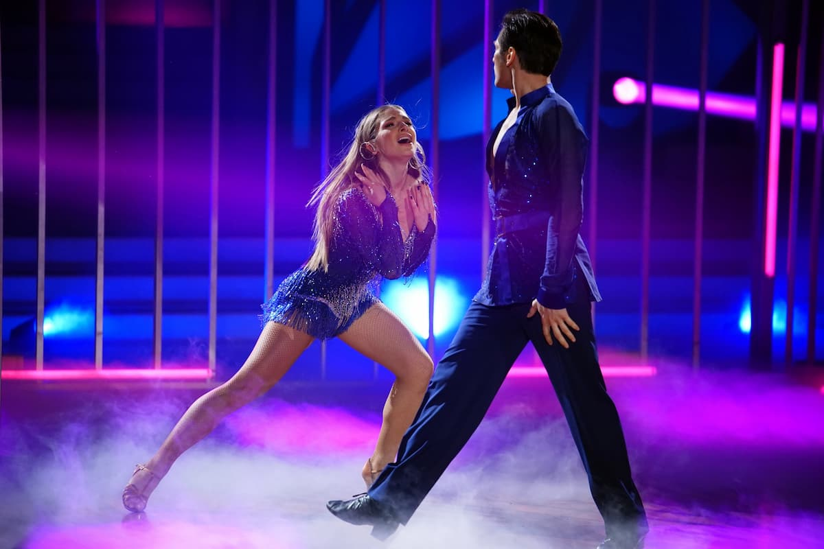Lola Weippert mit Christian Polanc Let's dance 16.4.2021