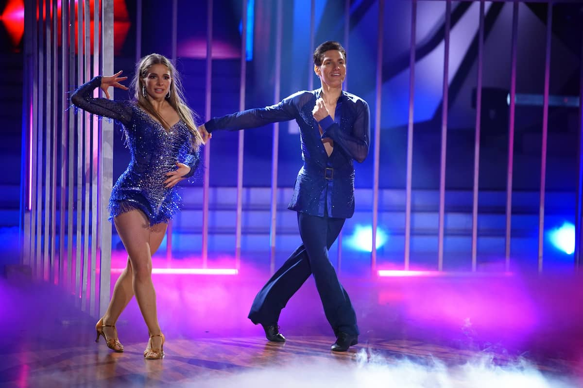 Lola Weippert und Christian Polanc bei Let's dance am 16.4.2021