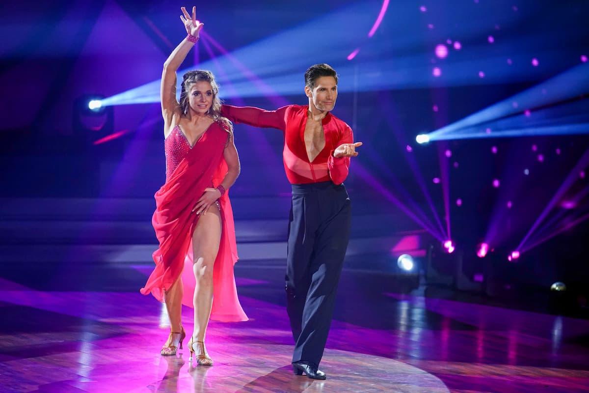 Lola Weippert und Christian Polanc bei Let's dance am 23.4.2021