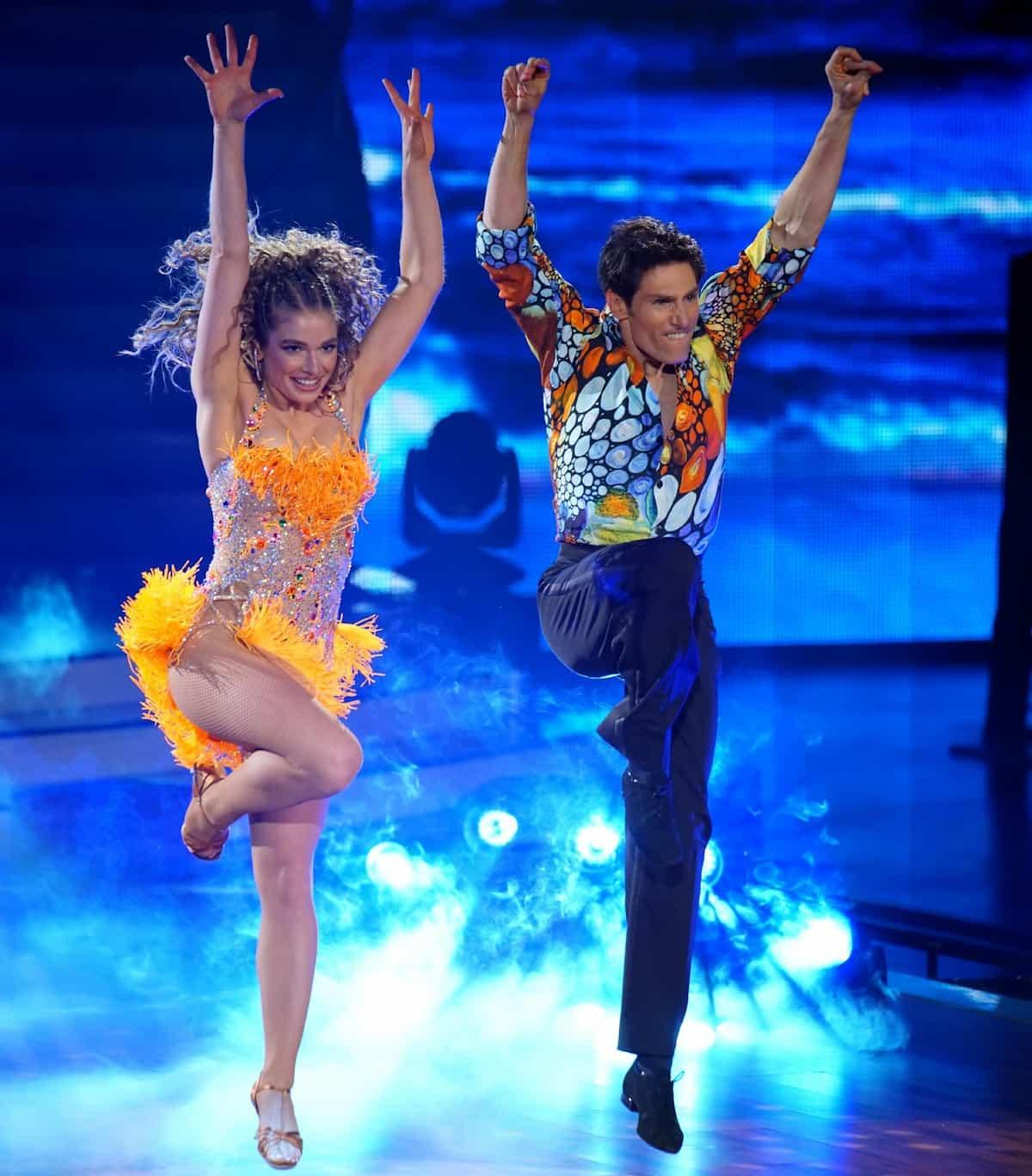 Lola Weippert und Christina Polanc bei Let's dance am 9.4.2021