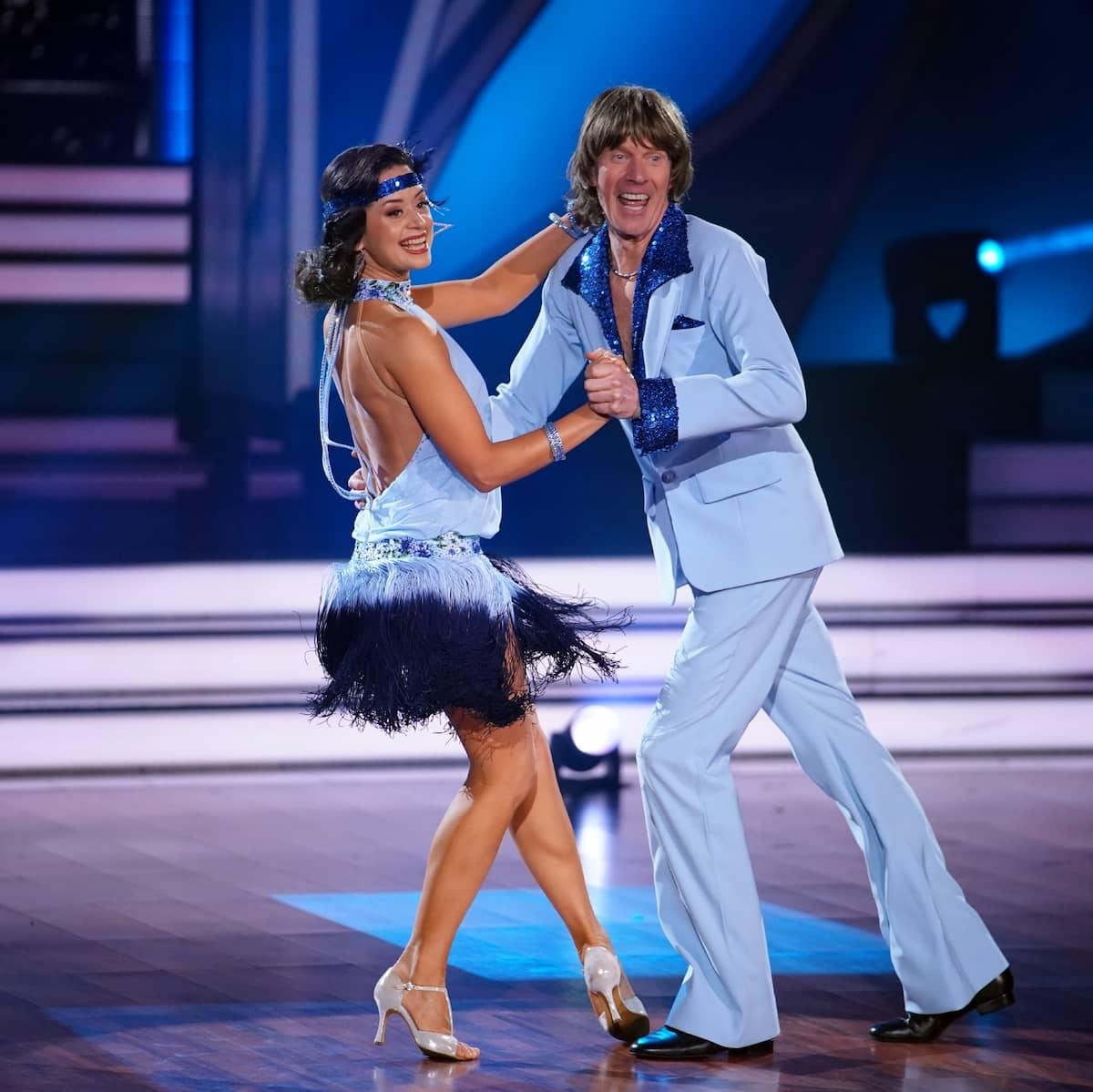 Malika Dzumaev mit Mickie Krause bei Let's dance am 16.4.2021 ausgeschieden