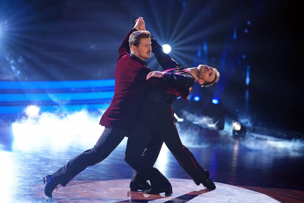 Nicolas Puschmann und Vadim Garbuzov bei Let's dance am 16.4.2021