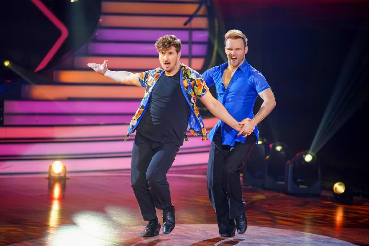 Nicolas Puschmann und Vadim Garbuzov bei Let's dance am 23.4.2021