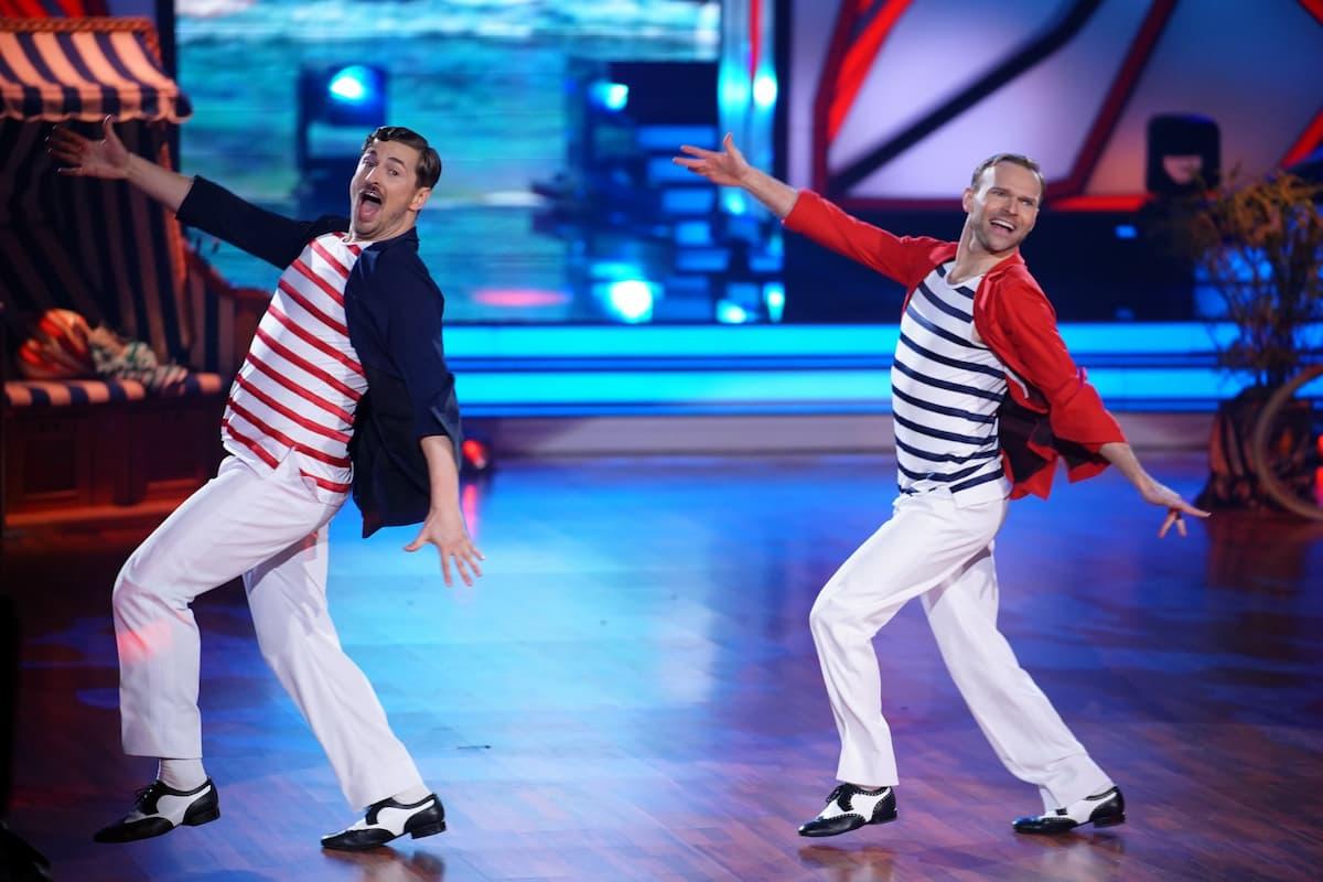 Nicolas Puschmann und Vadim Garbuzov bei Let's dance am 9.4.2021