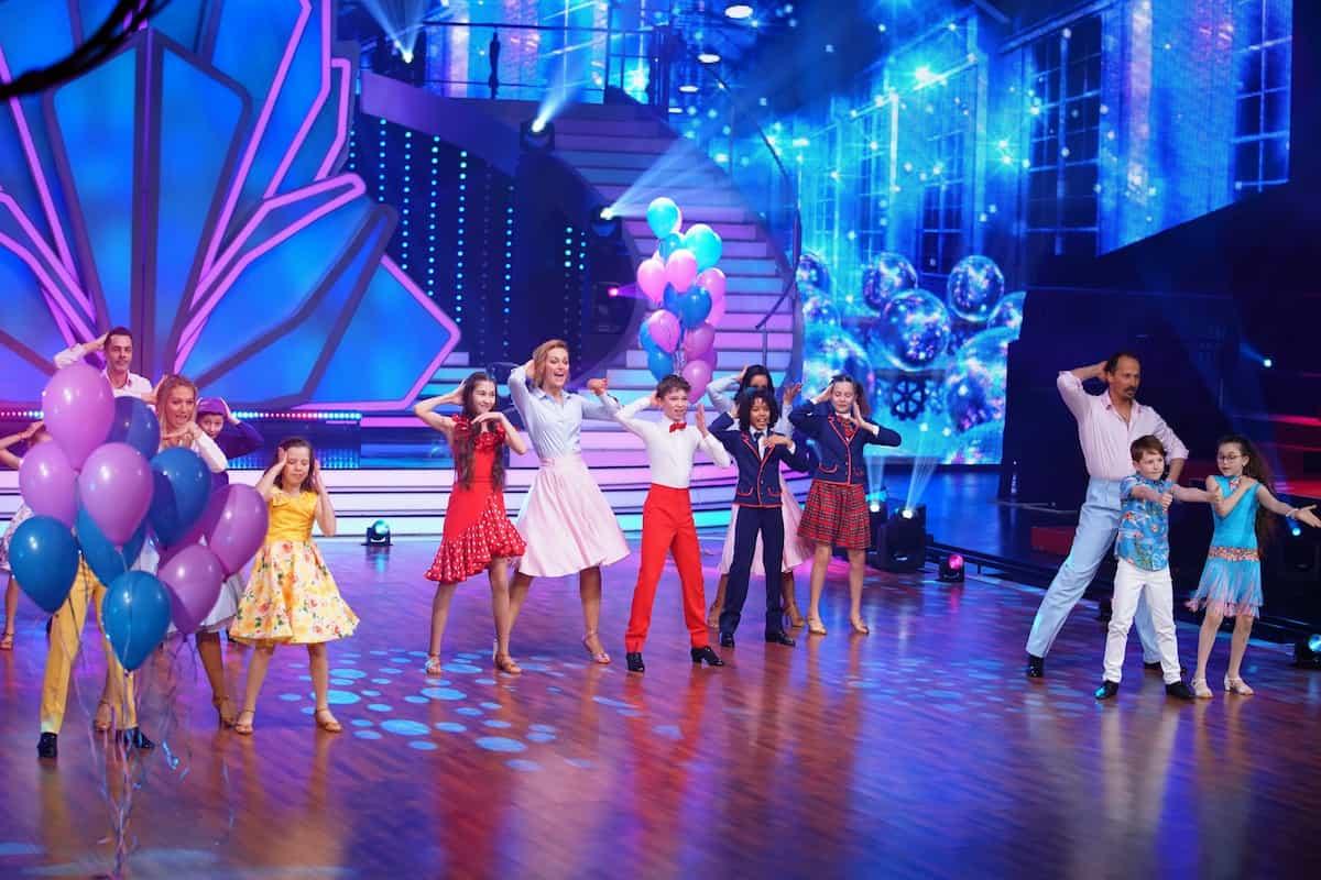 Opening-Tanz der 1. Folge von Let's dance Kids wurde bei Let's dance am 9.4.2021 noch einmal getanzt