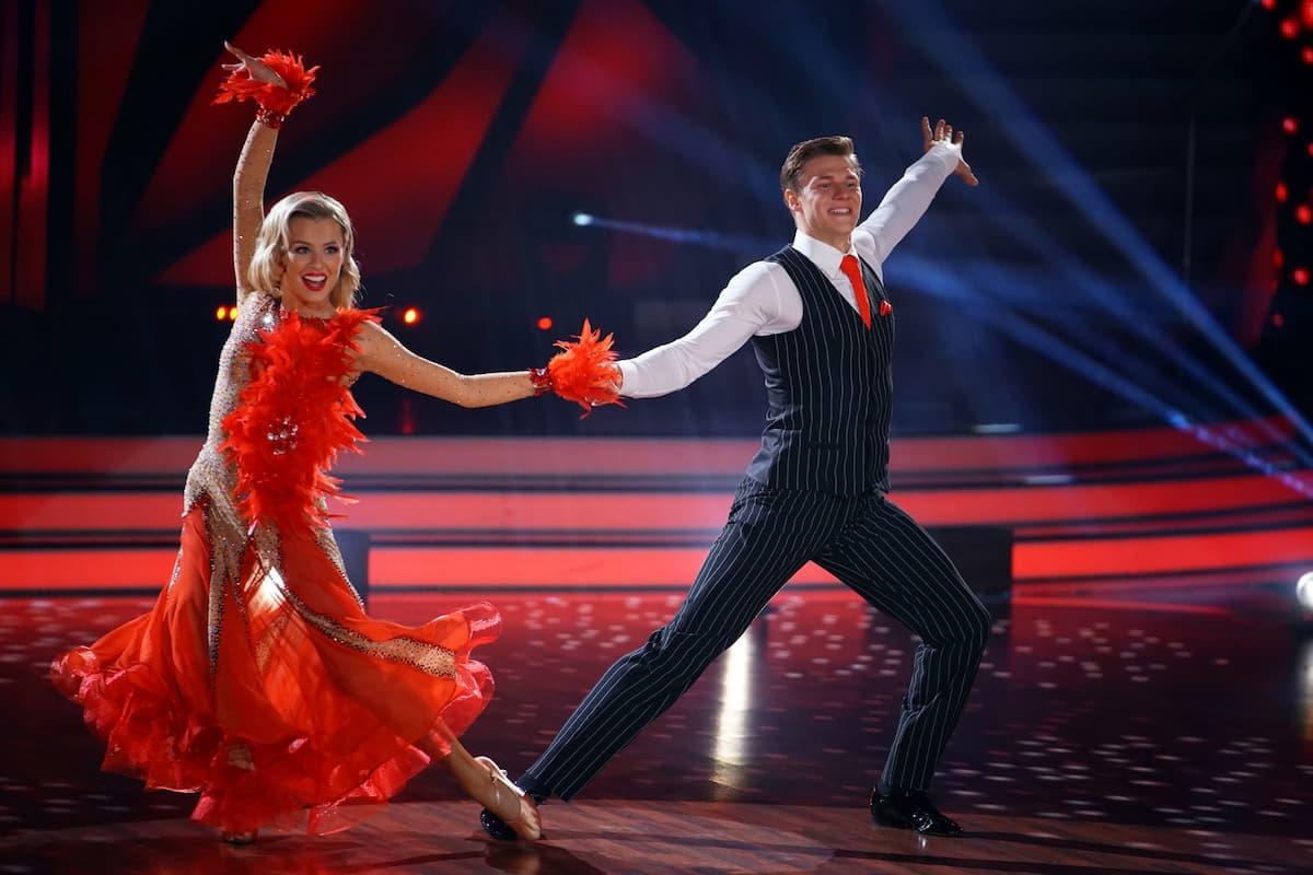 Patricija Belousova - Simon Zachenhuber Let's dance 16.4.2021