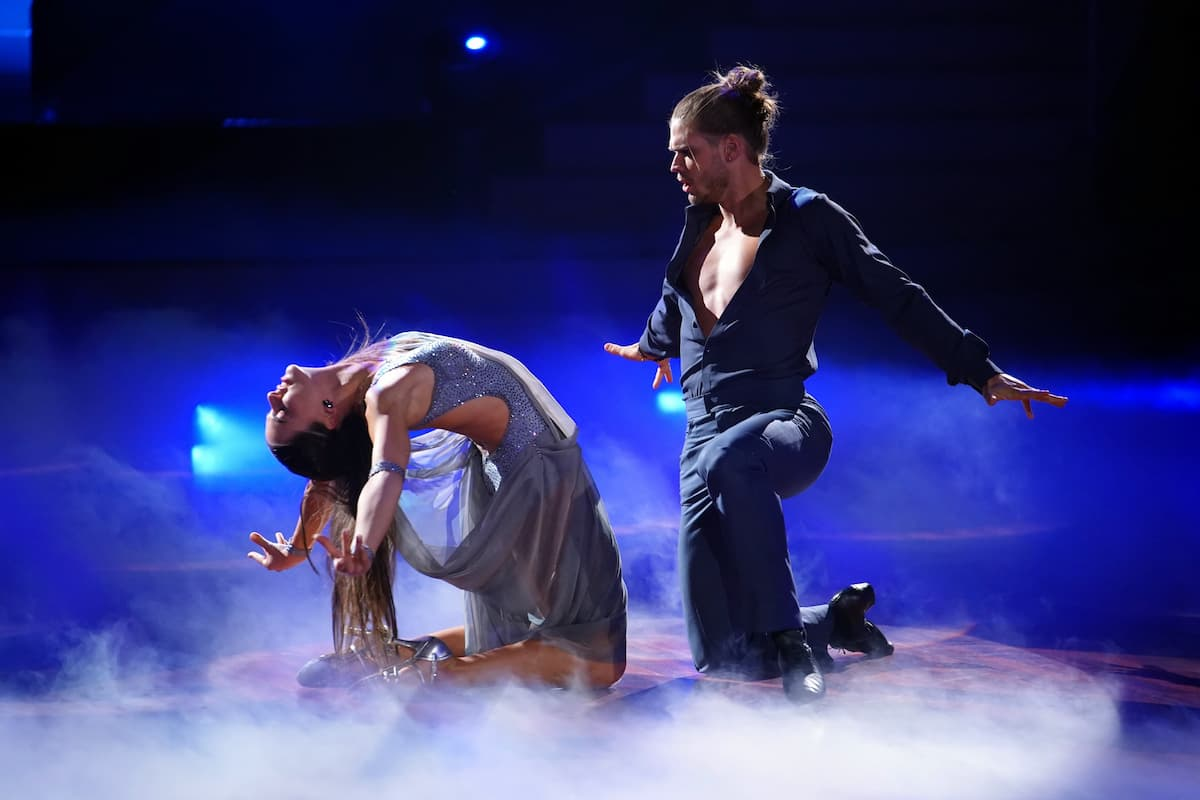 Renata Lusin - Rurik Gislason Let's dance 16.4.2021