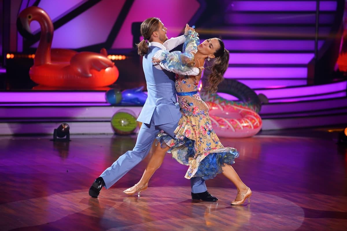 Rurik Gislason und Renata Lusin bei Let's dance am 9.4.2021