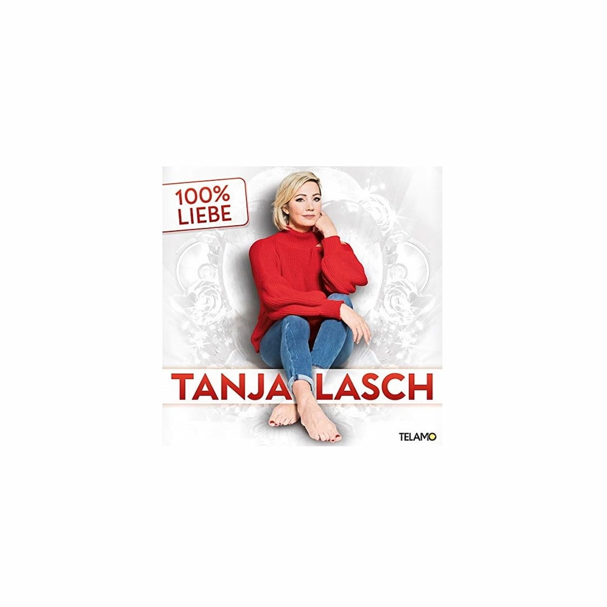 "Tanja Lasch CD ""100% Liebe"" 2021 - CD-Cover"