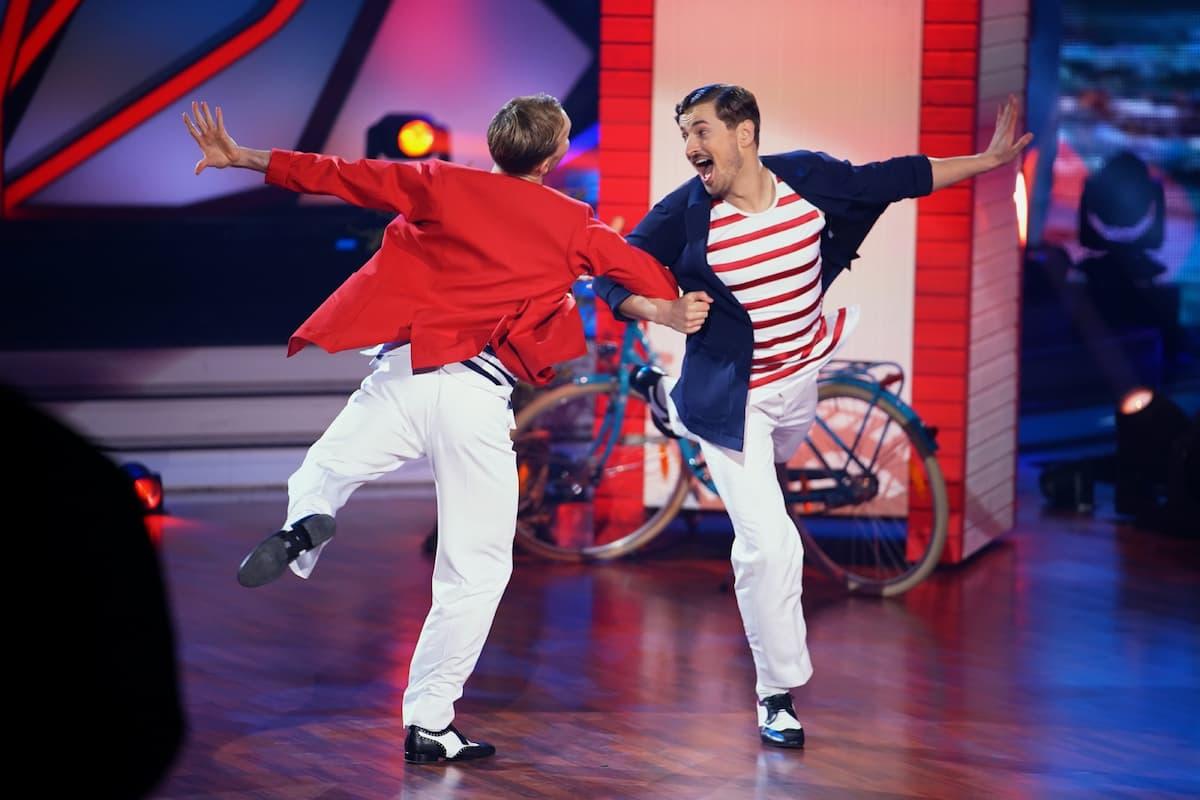 Vadim Garbuzov und Nicolas Puschmann bei Let's dance am 9.4.2021