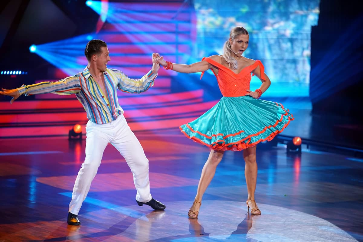 Valentin Lusin - Valentina Pahde Let's dance 16.4.2021