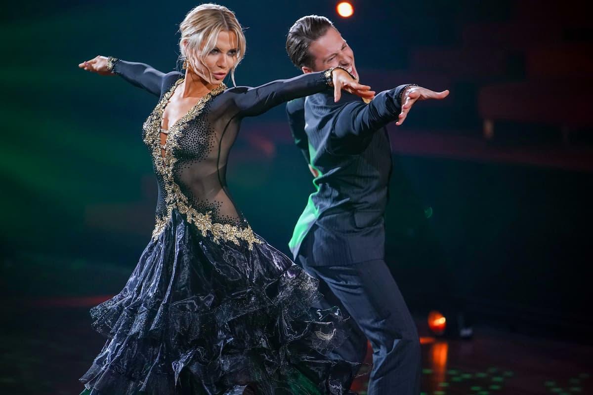 Valentina Pahde und Valentin Lusin bei Lets dance am 23.4.2021