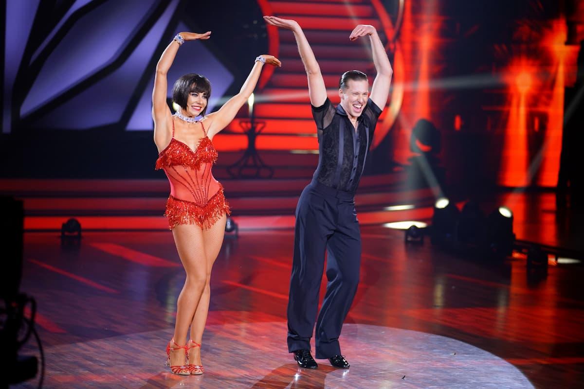 Valentina Pahde und Valentin Lusin bei Let's dance am 30.4.2021