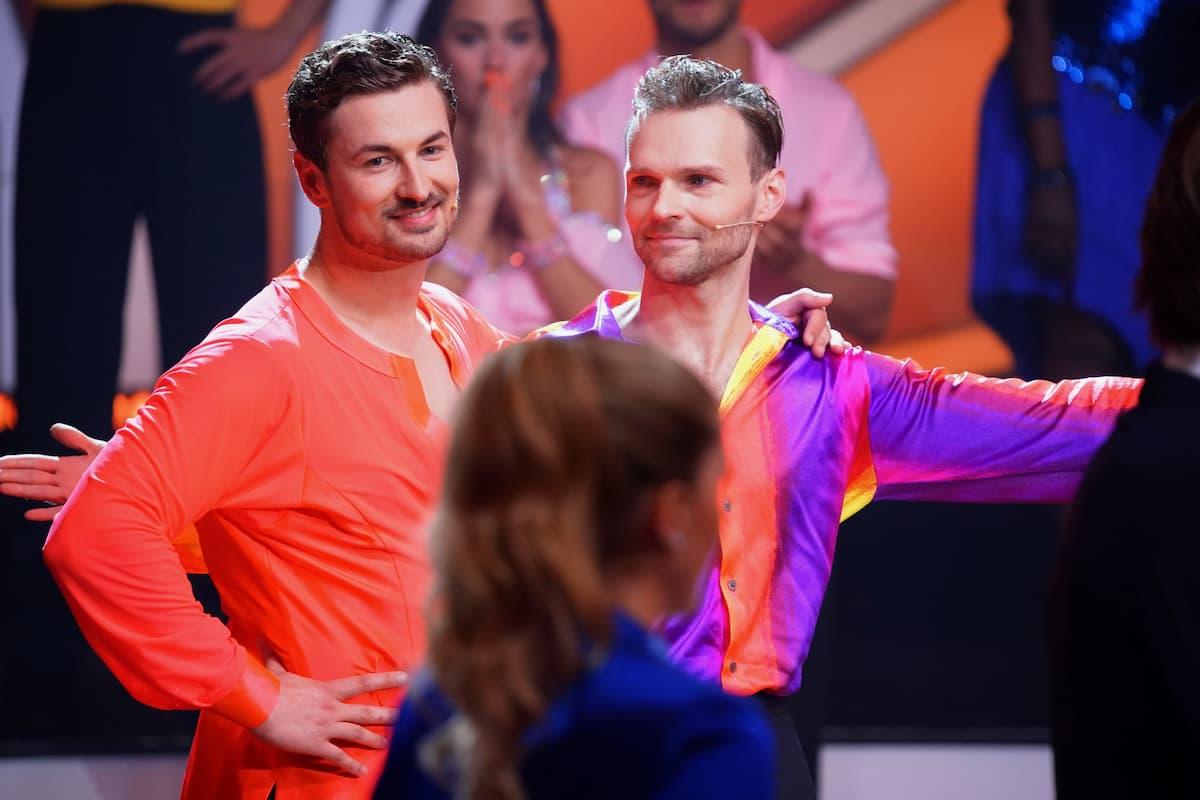 Ausgeschieden bei Let's dance am 30.4.2021 Nicolas Puschmann und Vadim Garbuzov nach der Entscheidung