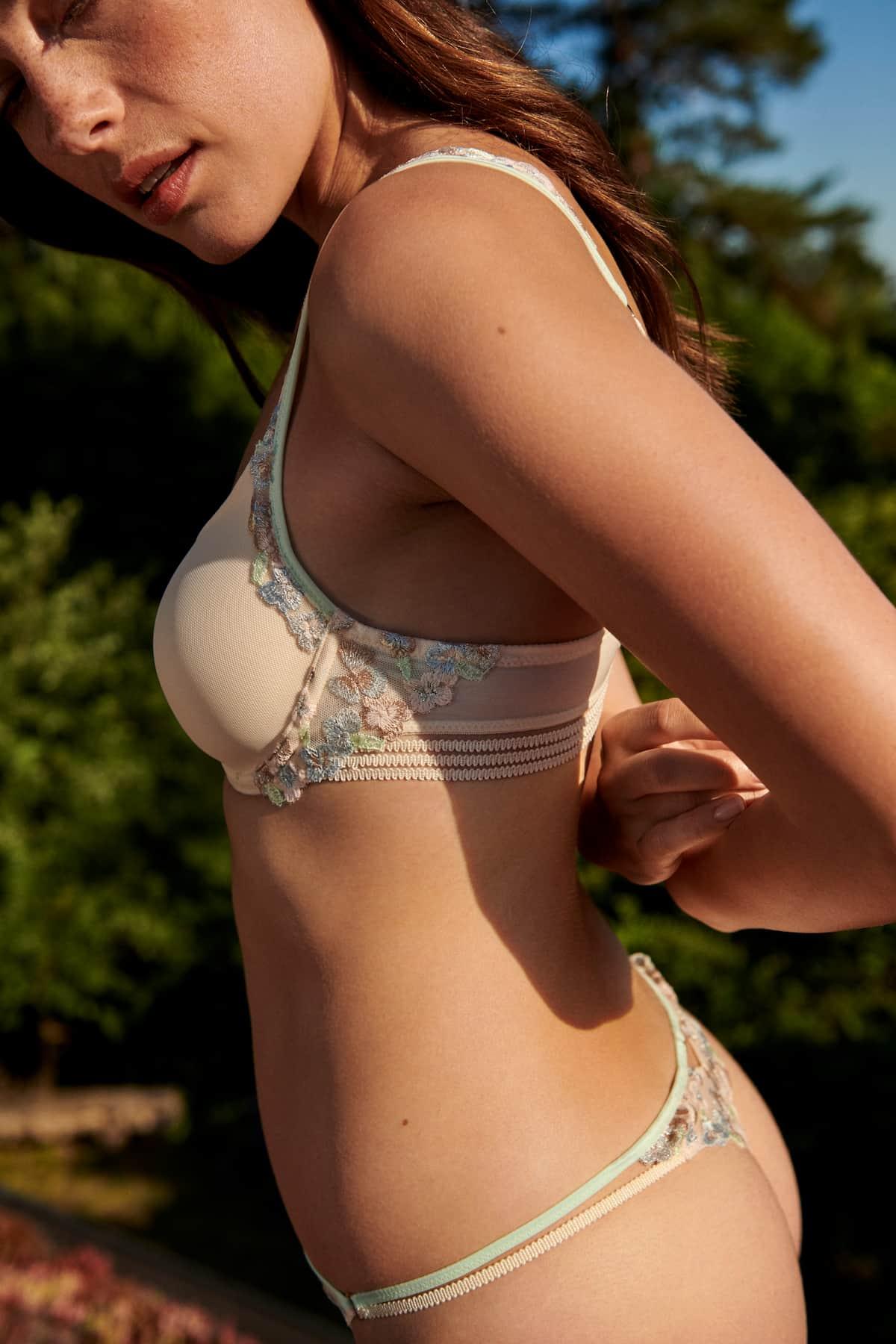BH und Slip Marie Jo Modell Nathy, Farbe Pearled Ivory - Mode Frühjahr-Sommer 2021