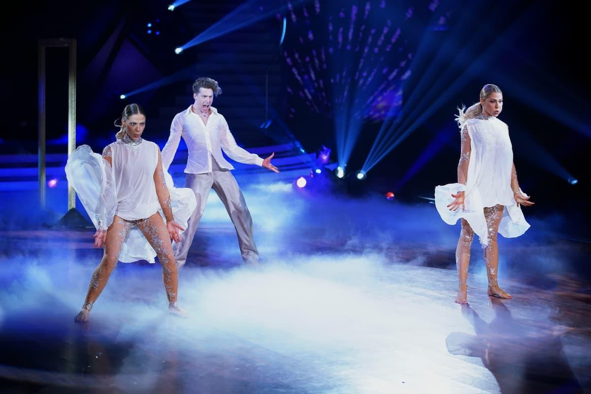 Cheyenne Pahde, Valentin Lusin und Valentina Pahde bei Let's dance am 7.5.2021