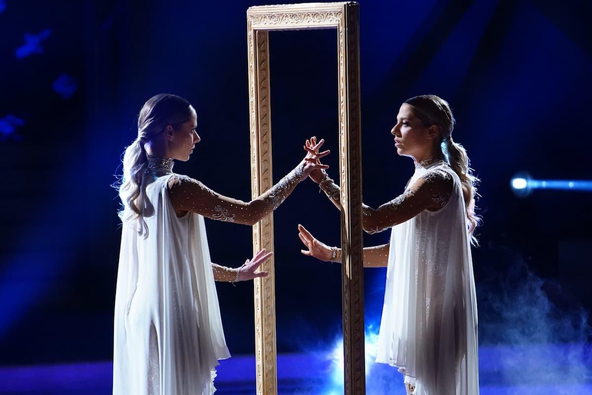Cheyenne Pahde und Valentina Pahde bei Let's dance am 7.5.2021