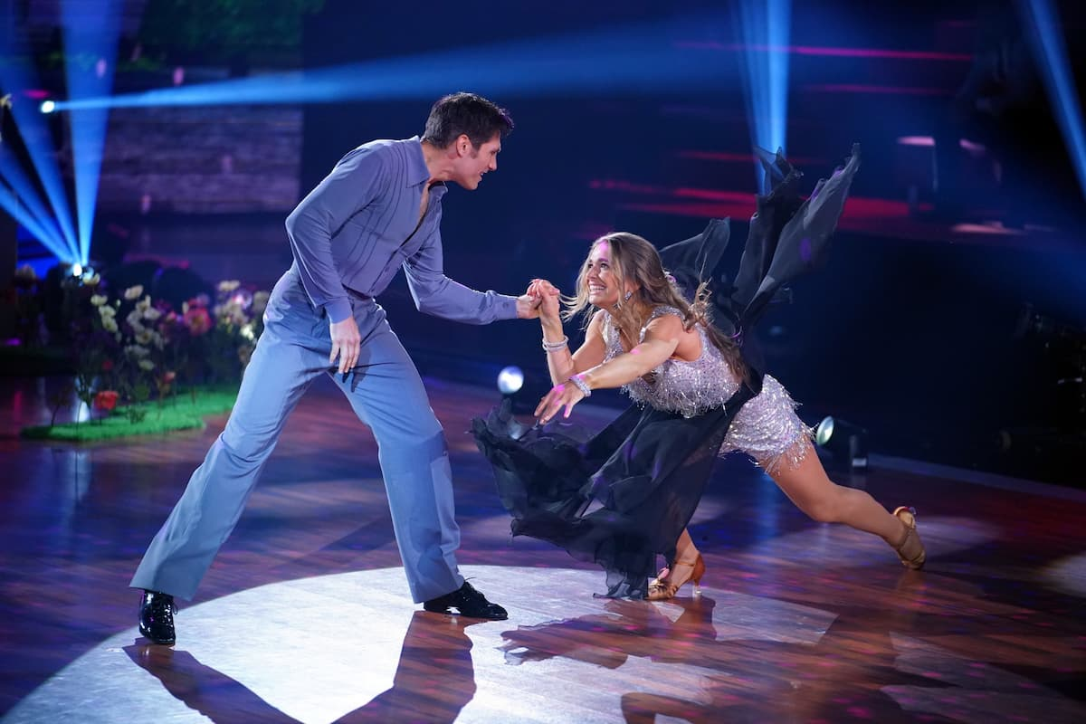 Christian Polanc bei Freestyle mit Lola Weippert - Let's dance am 7.5.2021