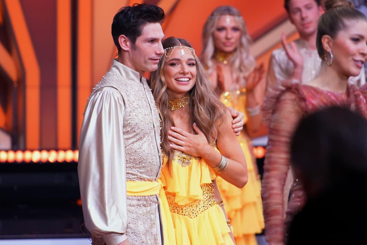 Christian Polanc und Lola Weippert ausgeschieden bei Let's dance am 7