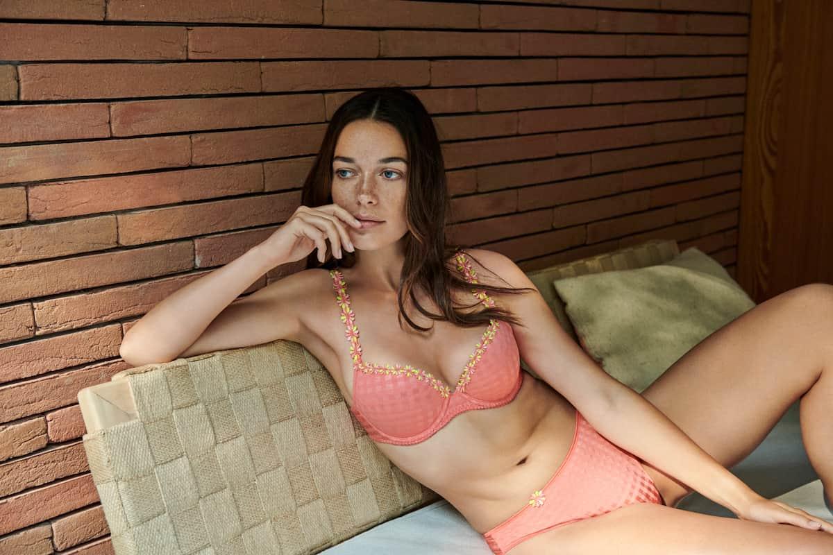 Dessous Frühjahr-Sommer 2021 Marie Jo Modell Avero, Farbe Precious Peach