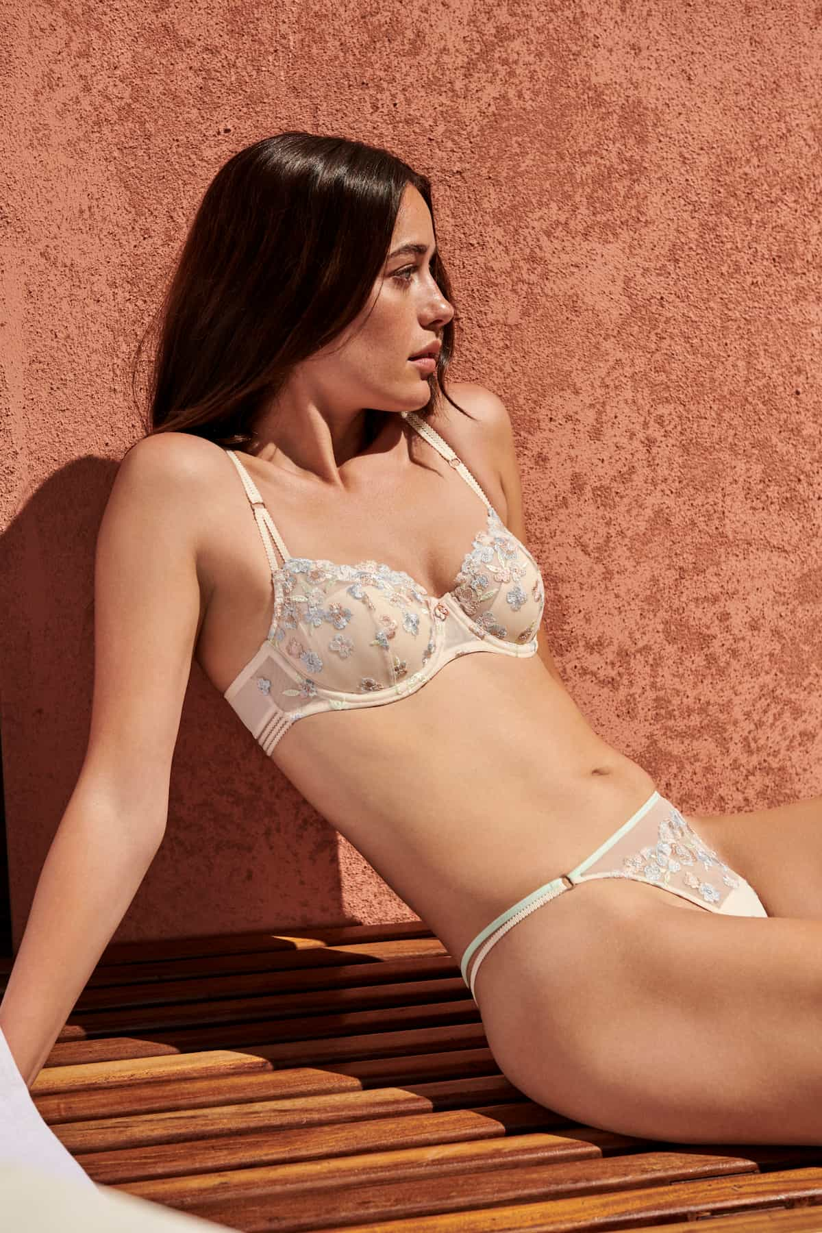 Dessous-Serie Marie Jo Modell Nathy, Farbe Pearled Ivory - Frühling-Sommer 2021