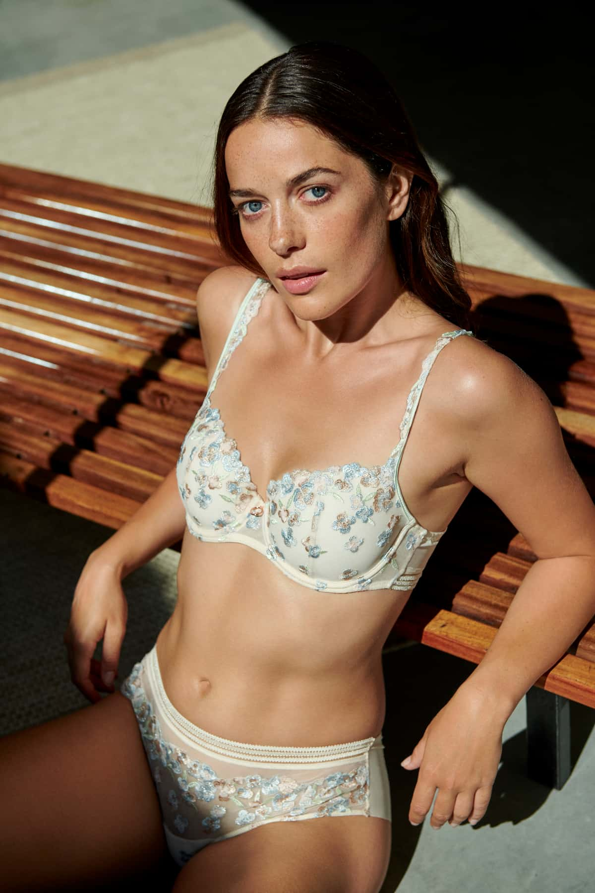 Lingerie 2021 BH und Slip Marie Jo Modell Nathy, Farbe Pearled Ivory