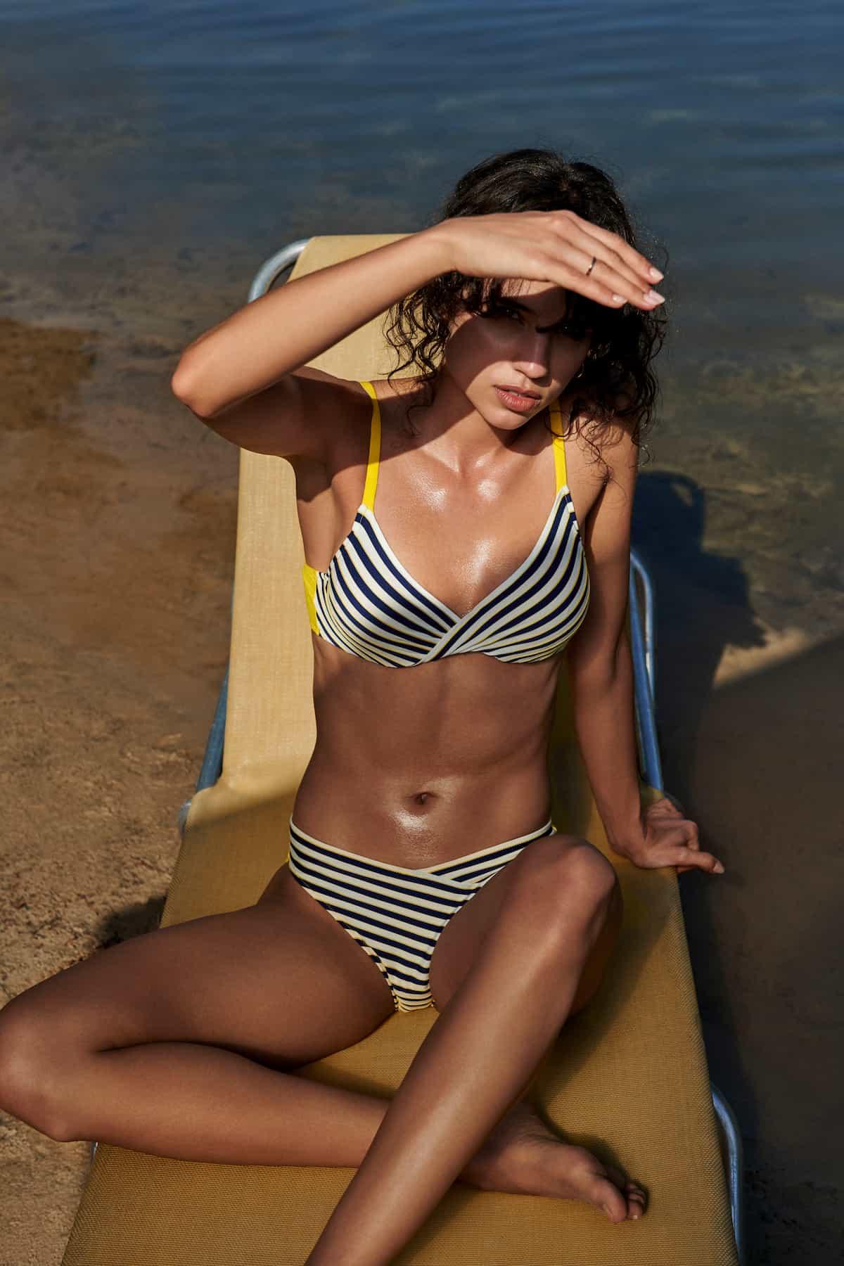 Marie Jo Swim Bademode 2021 Modell Manuela - Bikini in Wickel-Optik