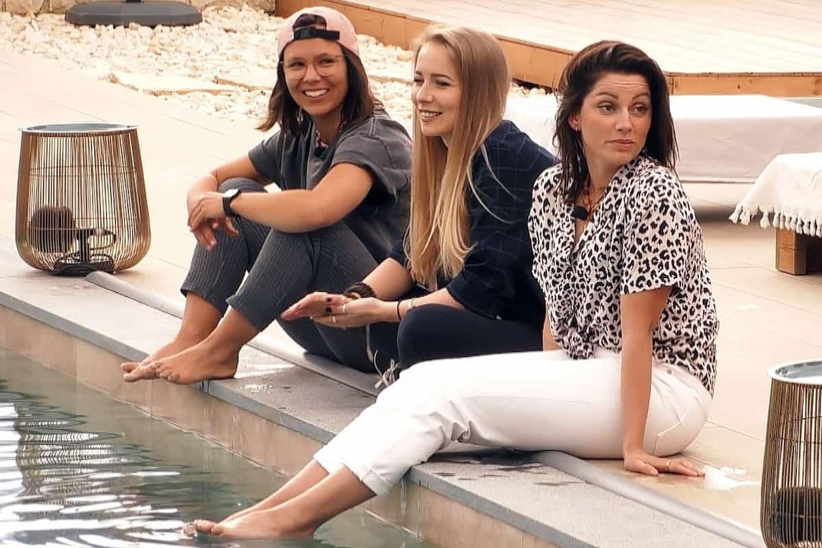 Miri, Sarina und Sabine (Bine) in der 1. Folge Princess Charming 2021