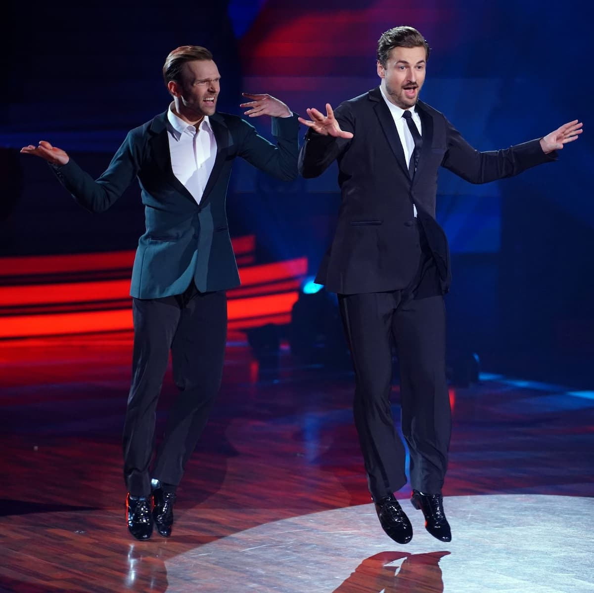 Nicolas Puschmann und Vadim Garbuzov bei Let's dance am 21.5.2021