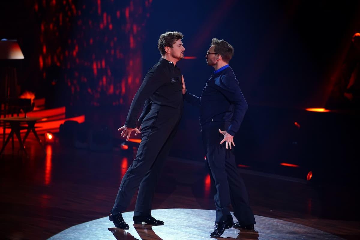 Nicolas Puschmann und Vadim Garbuzov bei Let's dance am 7.5.2021